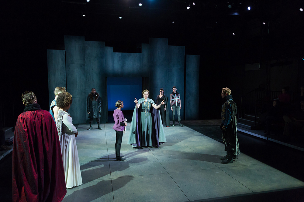 THE TROUBLESOME REIGN OF KING JOHN Scenic Designer: Izmir Ickbal